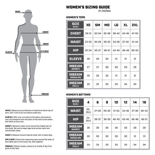 Sizing Chart Women